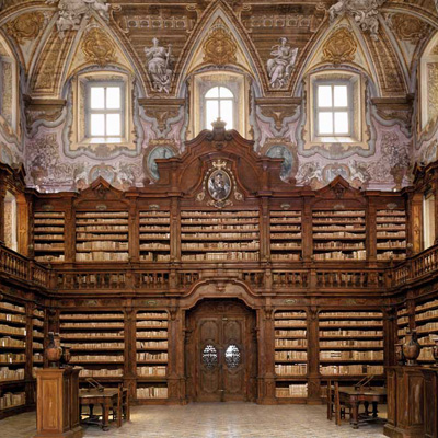 Napoli - Biblioteca dei Gerolamini