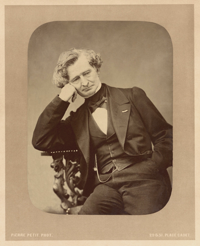Portrait d'Hector Berlioz (1803 - 1869)Crédits