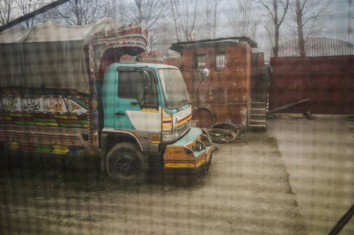 Le camion pakistanais transportait 114 kg d'héroïne pureCrédits : Sami Siva