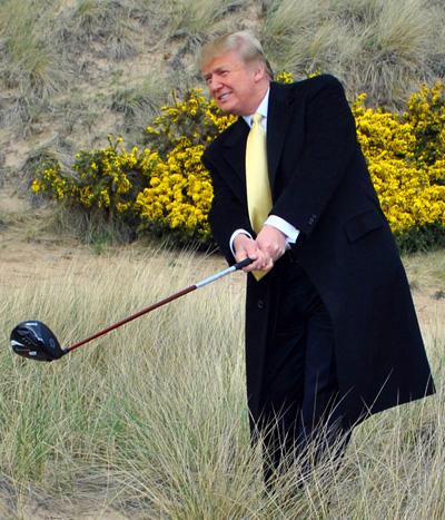 Ce que l'Écosse pense de Donald Trump