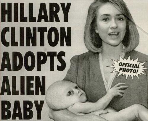 extraterrestre hillary clinton