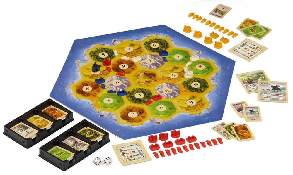 Catan Jeu De Société Mayfair Games