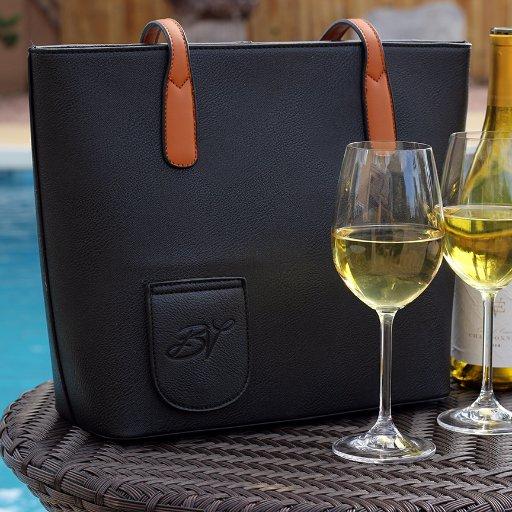 Favori Ces sacs en cuir faits main sont faits pour y planquer un cubi de vin OF47