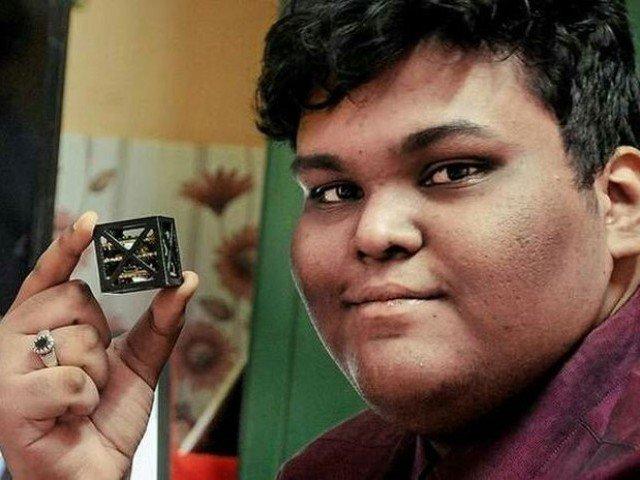 Un tout jeune Indien a développé le satellite le plus léger du monde