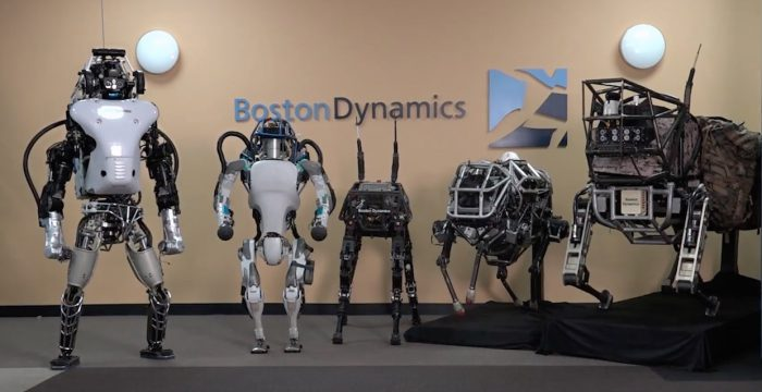 Google vend les robots de Boston Dynamics au groupe japonais Softbank