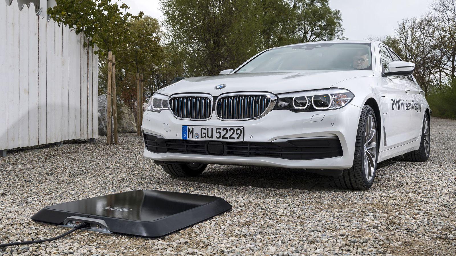BMW développe une recharge sans-fil pour ses voitures électriques
