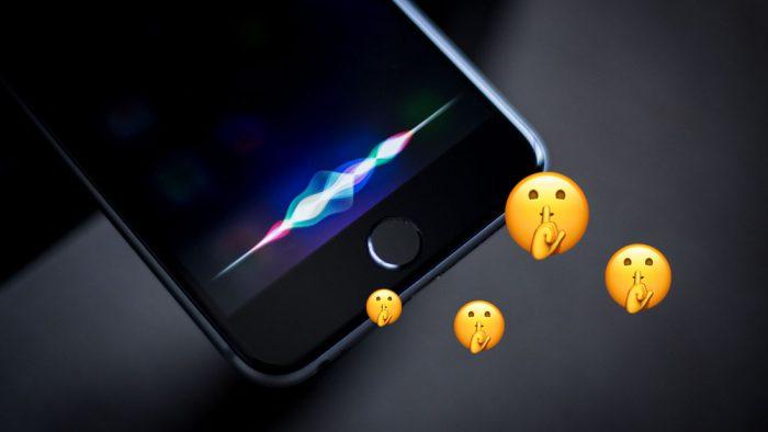 Siri pourrait bientôt comprendre quand vous chuchotez
