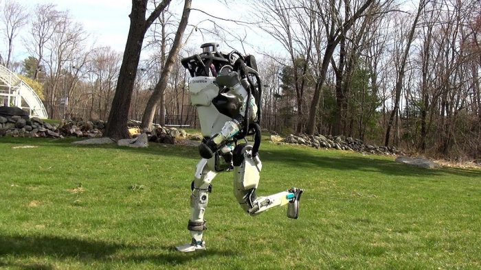 Crédits: Boston Dynamics  YouTube