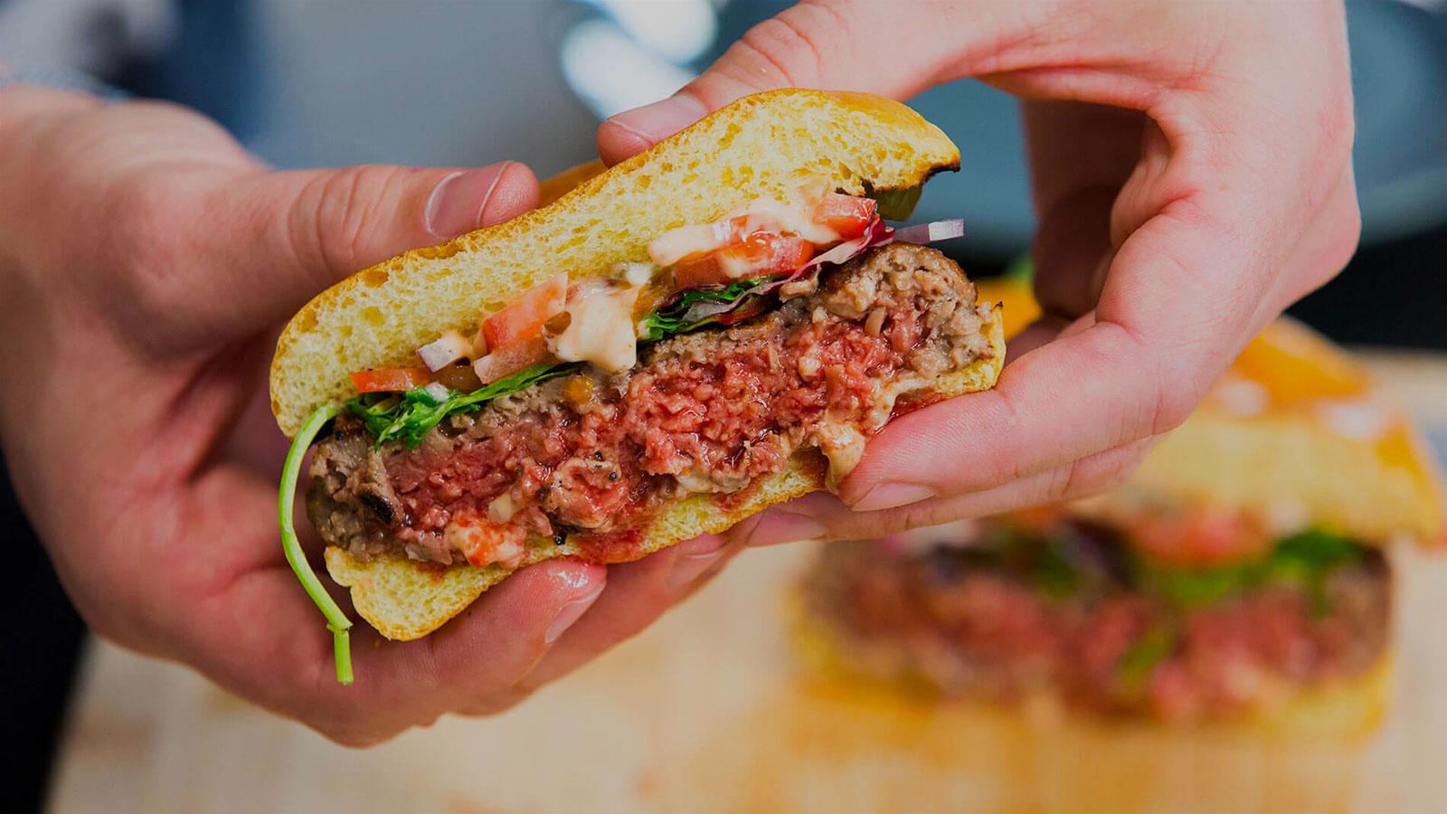 Le hamburger ultime est-il végétarien ?