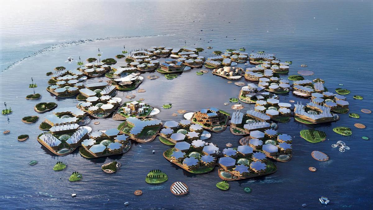 Les villes du futur flotteront-elles sur l'océan?