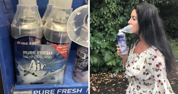 INSOLITE : La Nouvelle-Zélande met son air frais en bouteille et le facture 85 € dans News 9958-1-700x371