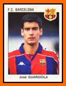 07-Josep GUARDIOLA - Panini FC Barcelone 1994