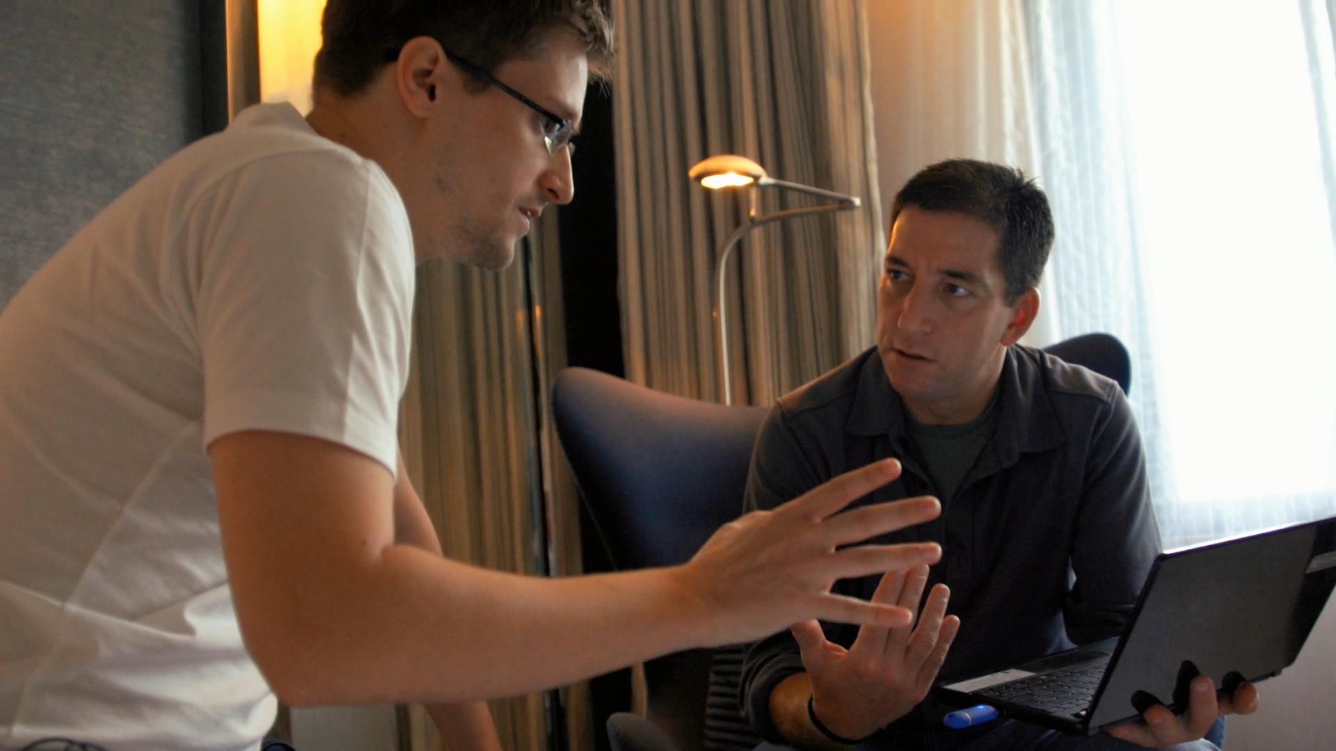 Snowden & GreenwaldCrédits : CitizenFour