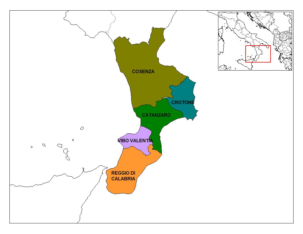 Calabria_Provinces