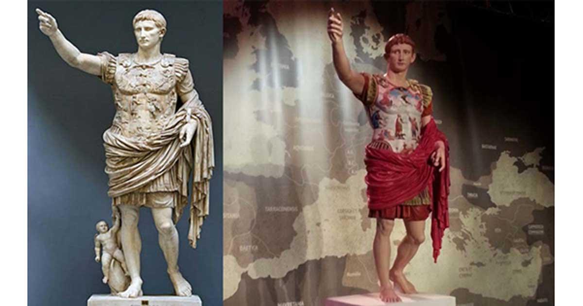 Ces Pigments Sont La Preuve Que Les Sculptures Antiques