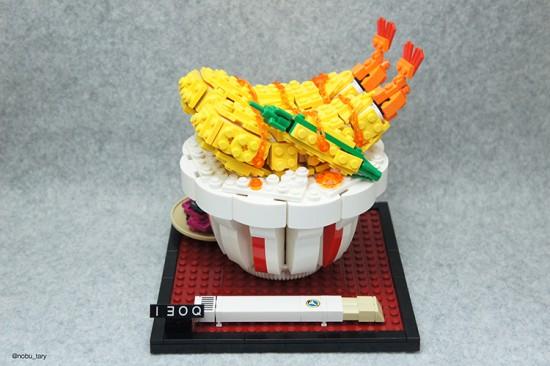 Crevettes lego