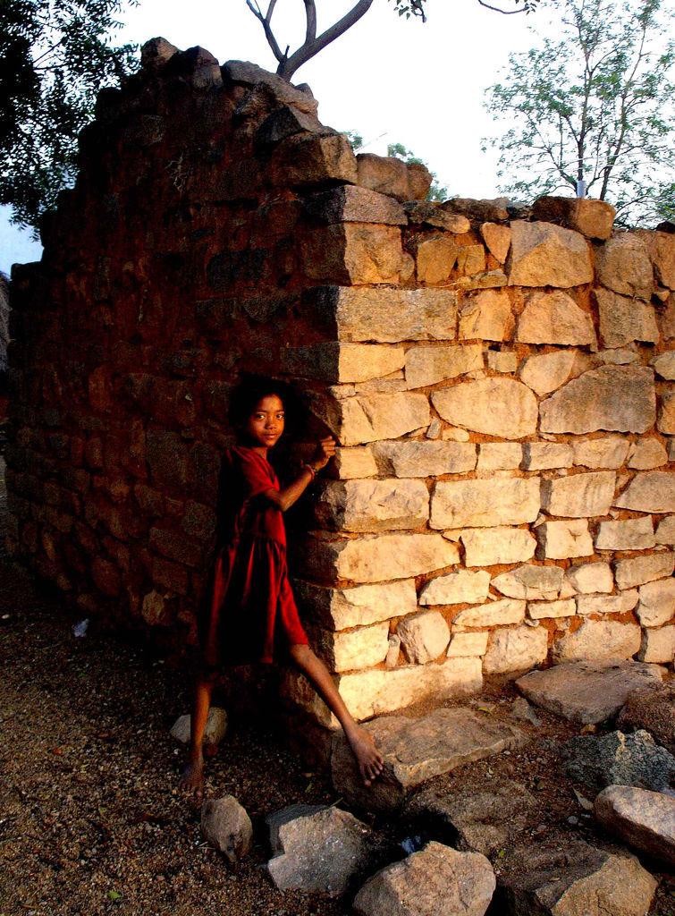 Jeune fille dalit© Gamdrup