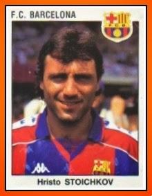 FC Barcelone 1993-94 Panini Hristo STOICHKOV