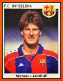 FC Barcelone 1993-94 Panini Michael LAUDRUP