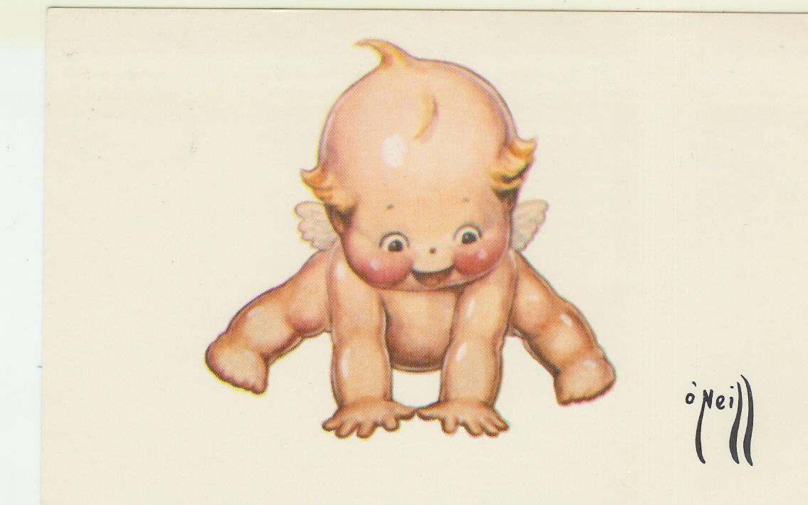 Kewpie-Postcard