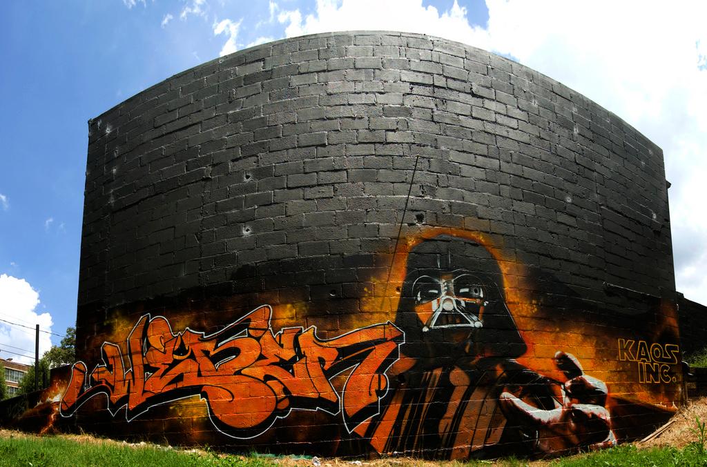 Star Wars Street Art Graffiti 1