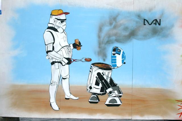 Star Wars Street Art Graffiti 2