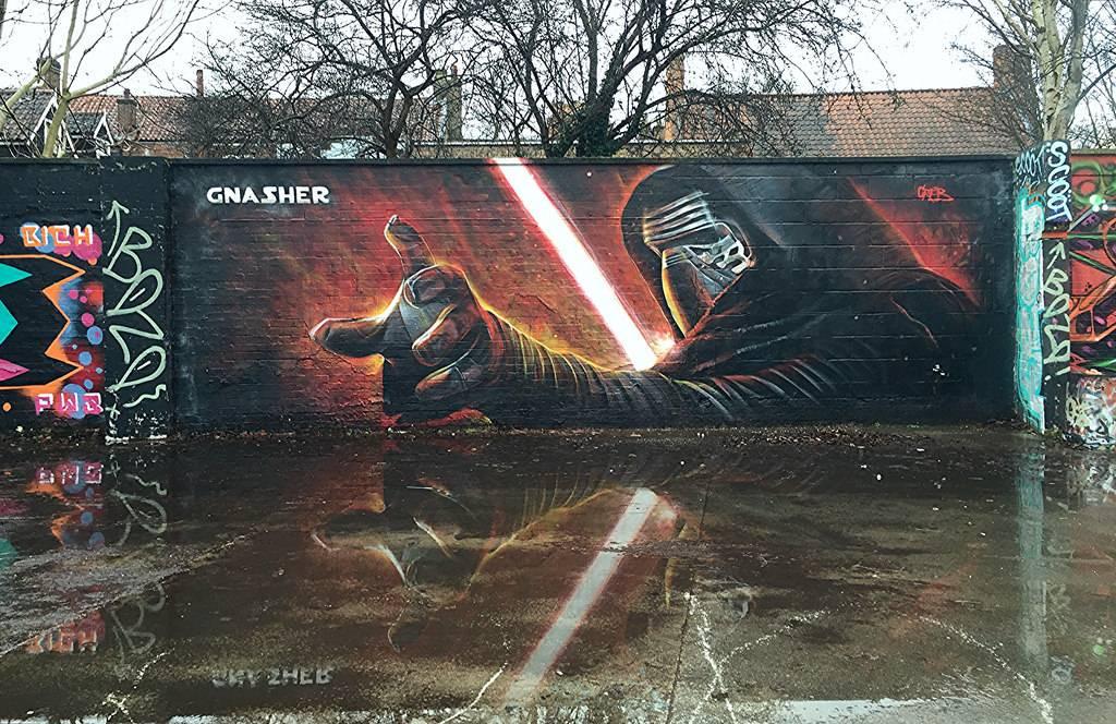 Star Wars Street Art Graffiti Norwich