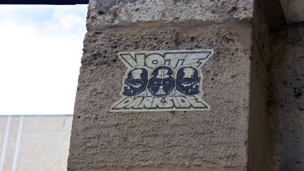 Star Wars Street Art Graffiti Paris France