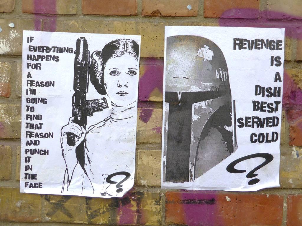 Star Wars Street Art Graffiti Shoreditch London 2