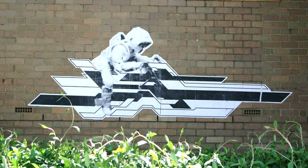 Star Wars Street Art Graffiti highgate