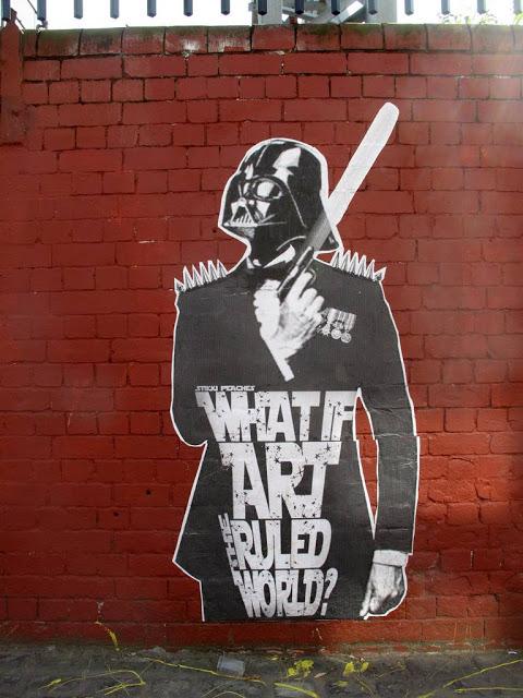 Star Wars Street Art Graffiti what if art ruled the world