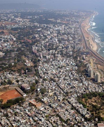 La ville de Visakhapatnam dans l'Andhra Pradesh© Candeo Gauisus