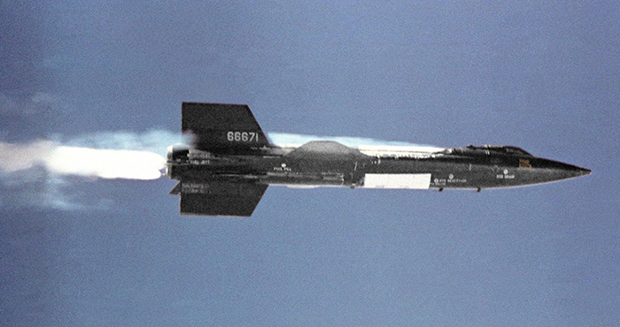 X-15_in_flight