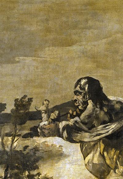 Atropos o Las Parcas, détailFrancisco de Goya