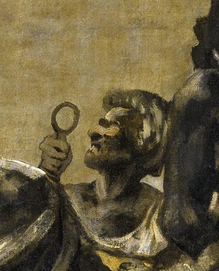 Atropos o Las Parcas, l'hommeFrancisco de Goya