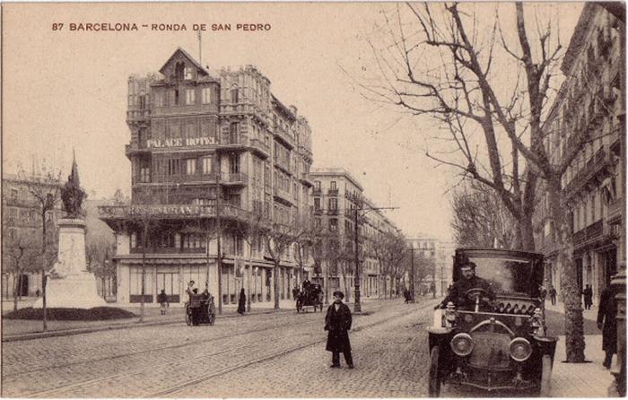 Isaac Ezratty s'installe au 29 Ronda San Pedro à Barcelone, en 1915Crédits