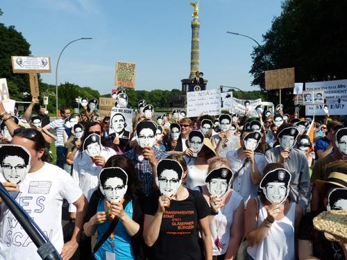 Le Parti Pirate à BerlinCrédits :