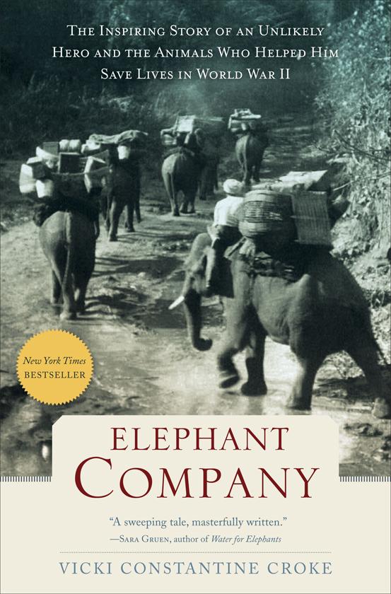 Elephant Company   Le reportage de Vicki Crocke figure dans la liste des   100 meilleurs livres de 2014 pour le New York Times  Crédits :