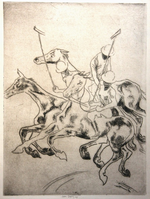 gerrish fine art polo players