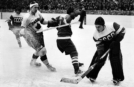 Canada et URSS face à face en 1954 © Arne Schweitz