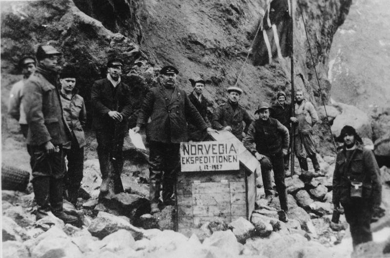 Les explorateurs du NorvegiaCrédits : Horntvedt