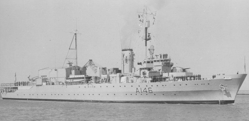 HMS ProtectorCrédits : HMS Protector Association