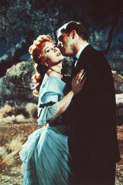 Burt Lancaster et Rhonda Fleming dans Règlements de comptes à O.K Corral