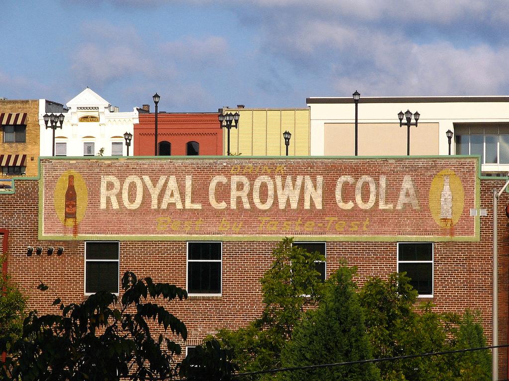 Publicité RC Cola à Maryville dans le TennesseeCrédits