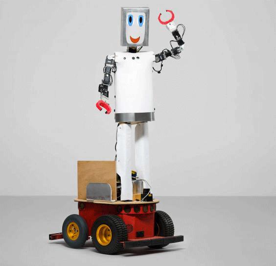 Le robot Charlie, permet aux enfants de s'instruire sur l'équilibre alimentaireCrédits : Thomas Farnetti