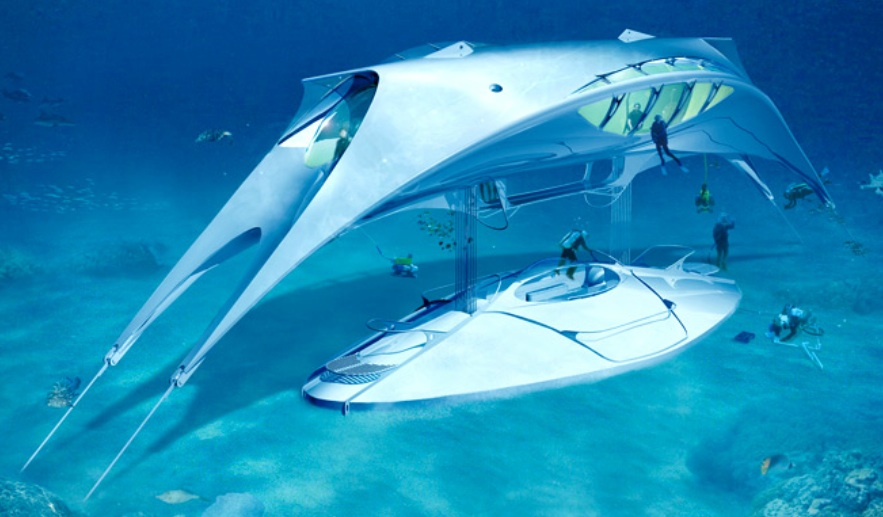 Seaspace, maison sous-marineCrédits : Jacques Rougerie