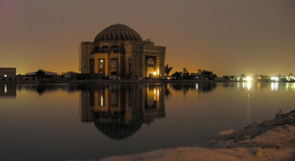 L'un des palais de Saddam HusseinCrédits : Brian Hillegas