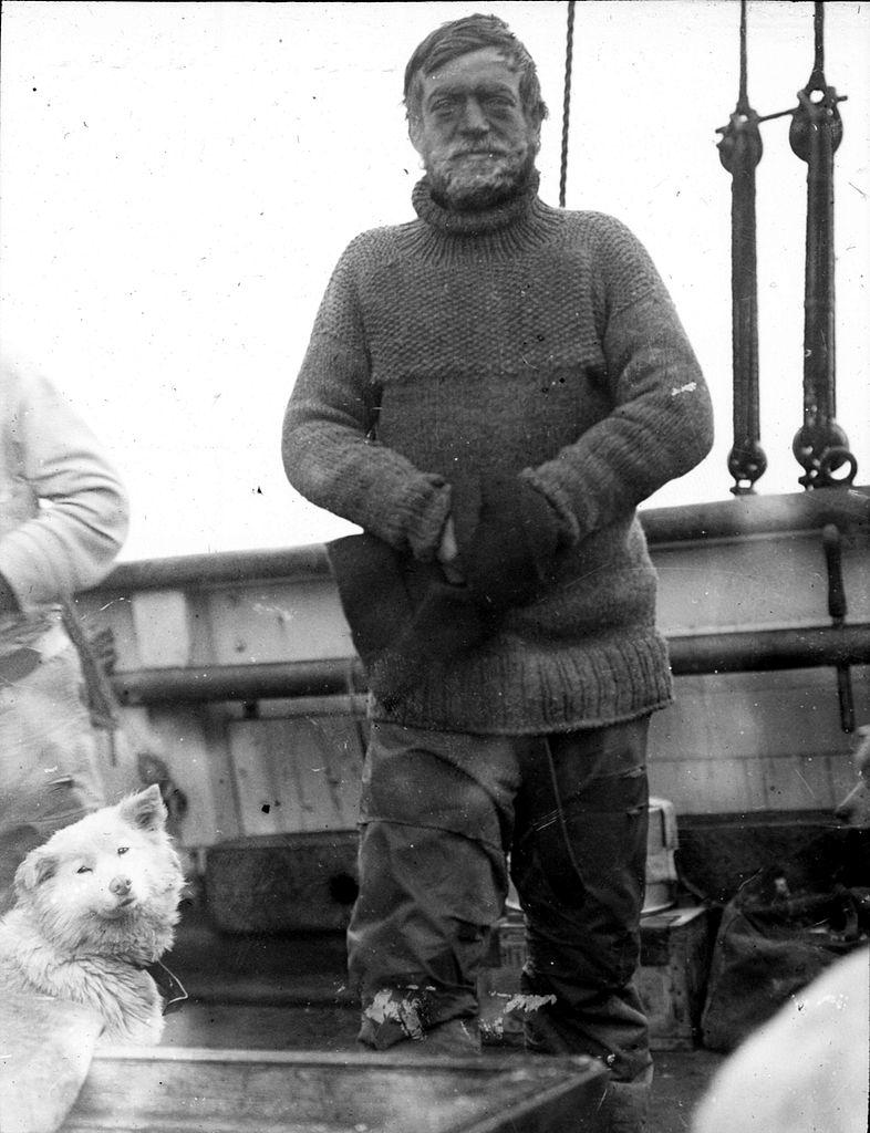 L'explorateur Ernest Henry Shackleton a inspiré AnanovCrédits : Wikipédia