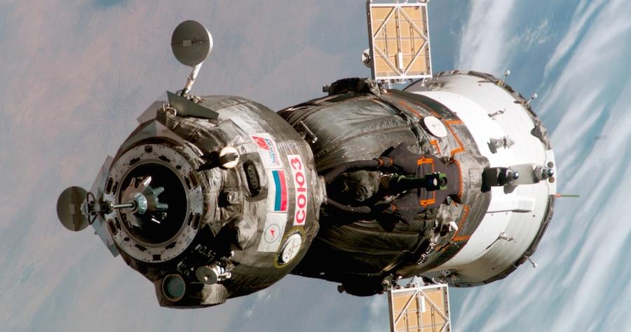Soyouz TMA-6 © NASA