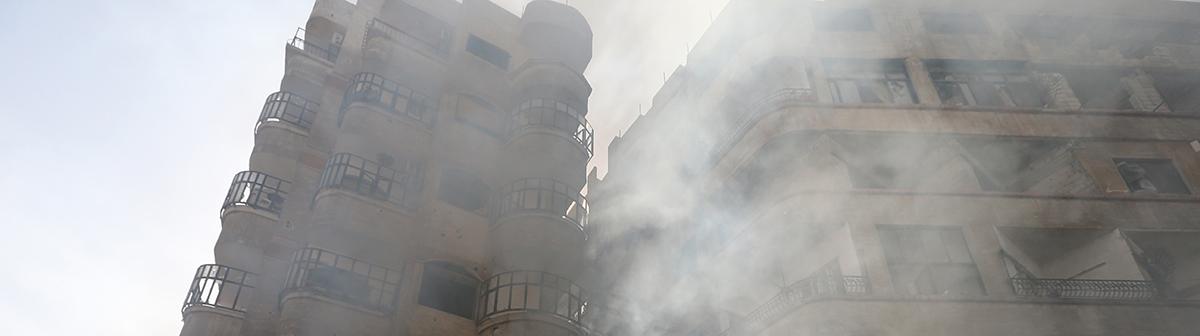 syria-burning-building